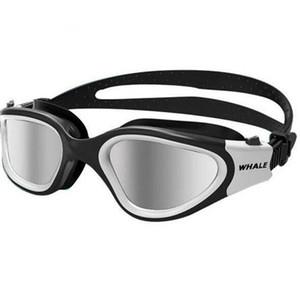 Swimming Glasses anti-fog uv Anti-ultraviolet Men Women Mask Waterproof Adjustable Silicone swim Adult Glasses with Box
