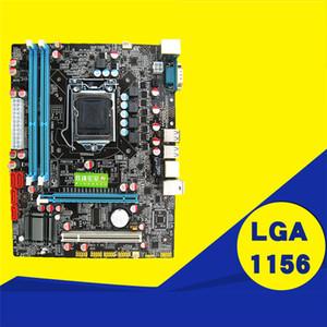 P55 Motherboard, CPU Suministros informáticos LGA 1156 Pin 2 DDR3 1 RJ45H55 Placa madre de escritorio con puerto USB de alta calidad