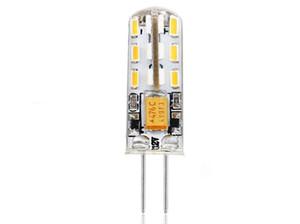 G4 3014 24 lights 12V 220V silicone corn light led light source small bubble Lighting Bulbs