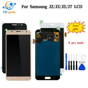 Soem neues LCD für Samsung-Galaxie J2 J3 J5 J7 LCD-Anzeigen-Zusammenbau-Touch Screen Analog-Digital wandler keine Helligkeits-Kopie eine Spitzenqualität