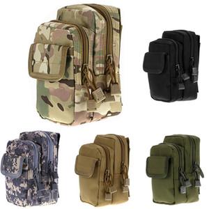 6s FIRECLUB Tactical Molle Pouch Belt cintura Bag Bloco de Fanny Outdoor Bolsas Phone Case bolso para iPhone / 7 / X