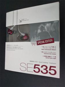 Nueva alta calidad SE 535 HIFI Auriculares con monitor de fiebre Fiebre Auriculares con micrófono SE535 Edición especial Ear Listening Earplug con paquete al por menor