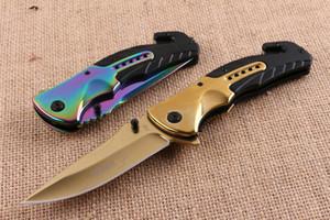 Бо кер F90 Quick Open Складной Нож Ножи Открытый Отдых Охота Карманный Подарочный Нож Рождественский подарок нож для человека 1 шт. БАЛИ