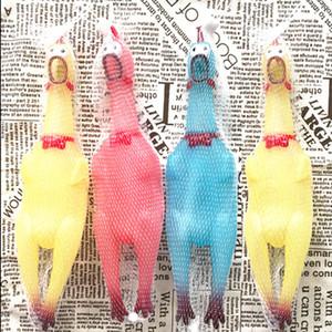 LED Yaratıcı Shrilling Tavuk Evcil Hayvanlar Malzemeleri Dekompresyon Kauçuk Oyuncak Aydınlık Çığlık Tavuk Sarı / Kırmızı / Yeşil Yeni Geliş