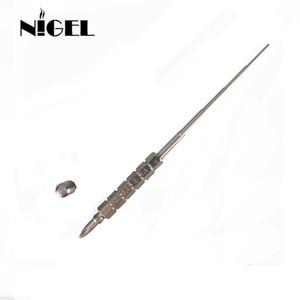 Nigel 마이크로 코일 지그 전자 담배 RDA 원자로 Wick Wire Coil Tool Rick RBA 용 스크류 드라이버로 Wick Jigs Wrapping Coil