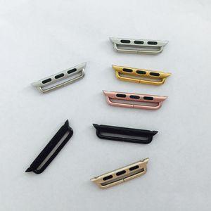 Apple Seguir adaptador de Banda Un par de conectores Para metal serie iWatch 5 4 3 2 1 38 mm 42 mm 40 mm 44 mm Sport Edition correa de reloj de 100 pares / lots