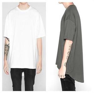 Swallowtail erkek t-shirt Yüksek Sokak YURTDIŞI gevşek kırlangıç Tees erkek dibe katı renk kısa kollu Tişört 4 renkler