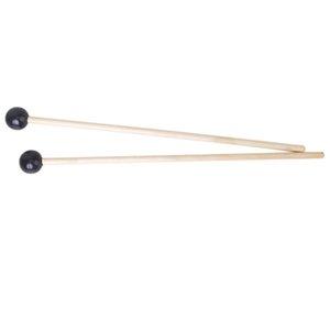 All'ingrosso 5X 2 x legno duro Mallock Glockenspiel Sticks testa di gomma