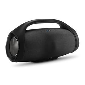 2018 Boombox Altavoz Bluetooth Subwoofer de alta fidelidad 3D Manos libres Subwoofers estéreo portátiles al aire libre con caja al por menor sin DHL