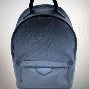 Kostenloser versand 41562 Mode Palm Springs Rucksack Mini Echtes Leder Kinder Rucksack Frauen Druck Ledertasche