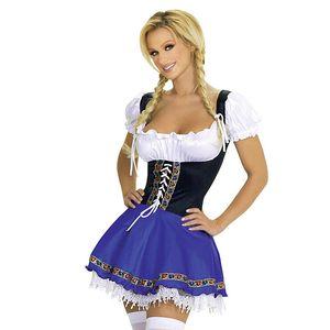2018 New Fashion German Oktoberfest Beer Girl Costume Sexy Beer Adult Fancy dress costume