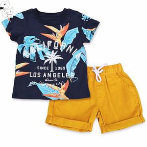 Baby Boys Sets Summer Boys Sets Clothes T shirt,short Pants cotton sports Letter printed Set Children Suit Factory Cost Cheap Wholesale