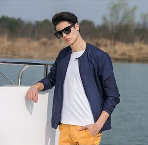 Nuova estate protezione solare abbigliamento uomo giacca ultra leggera traspirante giacca impermeabile protezione solare da uomo vendita calda