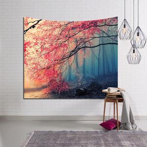 LYNGY Neige Montagne Océan Ciel Panoramique Lune Nature Tapisserie Accueil Décoratif Forêt Tapisserie Murale Tapis Tapis Personnalisable 100 * 150 cm