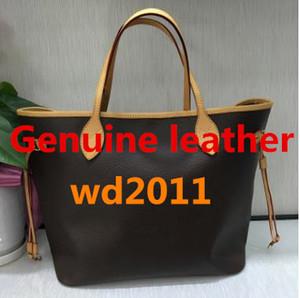 Borsa 100% delle donne della borsa della spalla delle donne del cuoio genuino di qualità eccellente 100% delle donne bag bag 40996