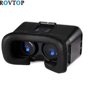 NUOVO casco Rovtop Stereo VR Box VR Virtual Reality 3D Occhiali Casco per occhiali da vista Smartphone Phone