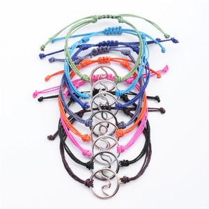 Yeni Tasarım 8 Renk Halat Dalga Bilezik Seti Charm Gümüş Altın kaplı Dalga Bilezikler Halhal Kadınlar Takı Yaz Aksesuar Hediyeler