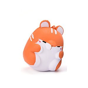 Hot Kawaii Suave Squishy Simulação Colorida Brinquedo Hamster Lento Rising para Alivia A Estresse Ansiedade Decoração de Casa 2018 hot new