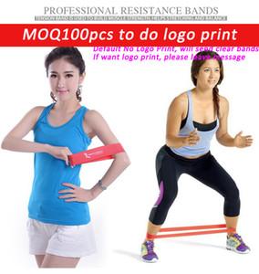 Qualität Gummi Widerstand Bänder Set Fitness Training elastisches Trainingsband für Yoga Pilates Crossfit Bodybuilding Übung Gewichtsverlust