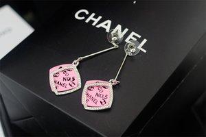 Pendientes de pulsera de perlas de cristal claro perla de las mujeres con caja