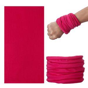 DIY твердые полиэстер бандана шарфы бесшовные хип-хоп шарфы головные уборы Спорт на открытом воздухе езда платок твердые солнцезащитный крем глушитель воротник