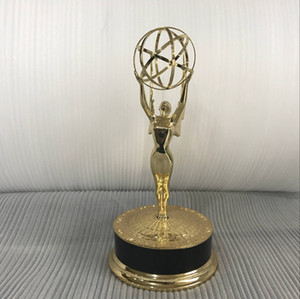 Real Life Size 39cm 1: 1 Emmy Trophy Academy Awards of Merit 1: 1 Metal Trophy Consegna in un giorno