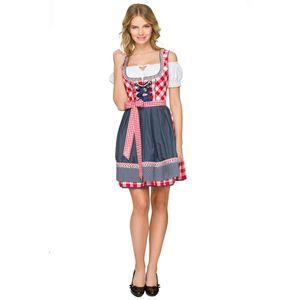 독일의 오스트리아 바바리아 전통 옷 드레스 옥토버 페스트 맥주 메이드 의상 할로윈 멋진 드레스 3 조각 섹시한 코스프레
