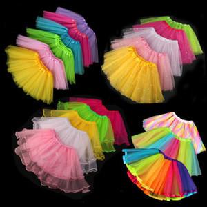 25 Stilleri Kız Tutu Elbise Bebek Kız Performans Festivali Elbise Kız Dans Yarım Etek Prenses Etek Yıldız Dantel Pretty Elbiseler Çocuk Giyim