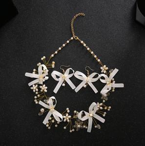 Boucles d \ 'oreilles Collier de mariage Bijoux Accessoires de nouvelle collection