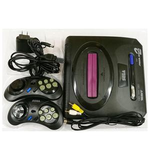 Sega Genesis / MD kompakt 2 in 1 çift sistem oyun konsolu / kartuş rom destek orijinal oyun kartı