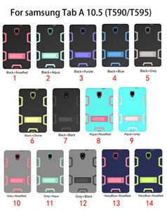 For SAMSUNG Galaxy tab A 10.5 SM-T590 T590 t595 S4 SM-T830 T830 t835 T387 t387 Military Extreme Heavy Duty Shockproof CASE Kickstand 2018