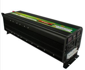 Pantalla LED de carga gratuita 5000Watt 10000W (pico) 12V / 24V a 220V 230V Inversor de corriente + Cargador de batería UPS LLFA