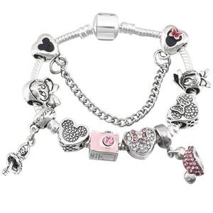 Armband der neuen Karikaturartkinder für Pandoraarmbandart Prinzessinkleidanhänger-Damenschmucksache-Armbandschmucksachen
