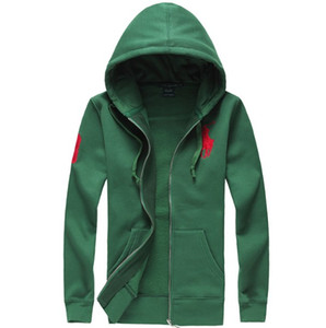 Bordado da malásia moletom com capuz 2018 novo Hot sale Mens polo Hoodies e Moletons outono inverno casual com um capuz jaqueta de esporte dos homens hoodies