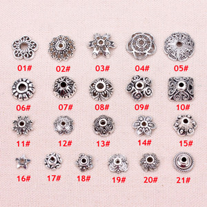 Le perle d'argento cap ricettacolo gioielli fai da te risultati dei monili facendo 200 pz / set