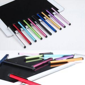 Stylus Pen Toque Pen Universal capacitiva de tela altamente sensível para iPhone X 8 7 Plus 6 6S 5 iPad 6 5 iTouch Samsung S8 S7 S6 Borda Nota 5