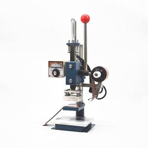 Sıcak Damgalama Makinesi Deri Yazıcı Indenter Sıcak Damgalama Makinesi Kabartma Makinesi 8x10 cm