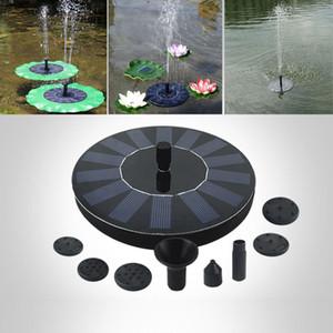 جديد مضخة المياه بالطاقة الشمسية لوحة العائمة مضخة كيت نافورة بركة مضخة كيت لوتس ورقة العائمة بركة غاطسة حديقة مضخة مياه WX9-600