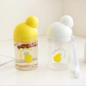 My Water Bole Jus de fruits Lait Sport Voyage Portable Boles à boire de l'eau 290ml Boles en plastique étanches