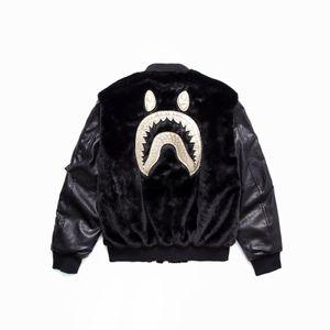 Hombre negro de impresión de algodón de felpa con capucha camuflaje Lapel Cardigan movimiento Ocio Pullover moda Trend Sweater Abrigo suelto chaqueta