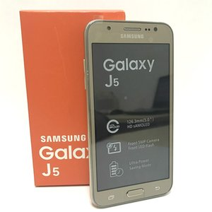 Reformado teléfono celular Samsung Galaxy J5 J500F dual sim 8G Android 5.0Inch original 13.0MP pantalla