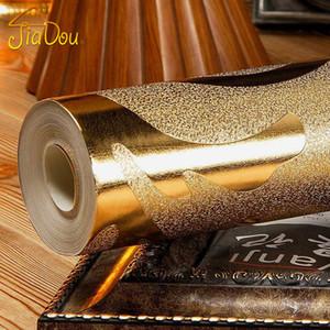 Classico lusso damasco oro lamina argento carta da parati carta da parati scintillio murale soffitto camera da letto divano TV sfondo muro decorazioni per la casa