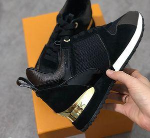 2020 New Mens Mulheres Correndo Sapatilhas de couro genuíno Casual formadores respiráveis Shoes misturar o tamanho cor 36-45 com caixa