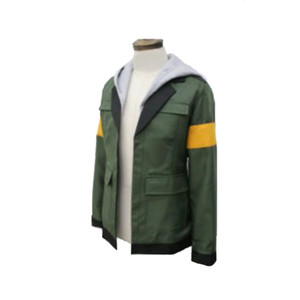 Voltron Efsanevi Defender Lance Ceket Cosplay Kostüm adam Ceket Hoodie Custom Made