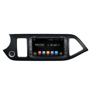 Car DVD player for Kia Morning Picanto 2014 8Inch Octa-core Andriod 8.0 with GPS,Steering Wheel Control,Bluetooth, Radio