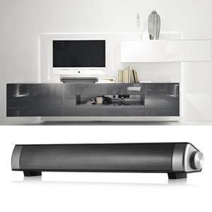 Slim Bluetooth Soundbar LP-08 HIFI Box Altavoz de subwoofer magnético inalámbrico Boombox Bar stick LP08 Micrófono manos libres portátil para TV, teléfonos de PC