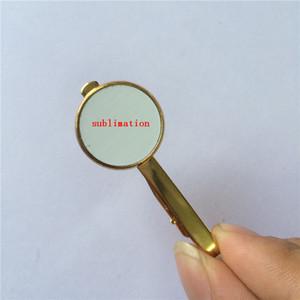 зажимы для галстука для сублимации ретро винтажные зажимы для галстука для термотрансферной печати пустые расходные материалы персонализированный подарок 07939 оптовые продажи