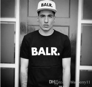 Balr T Shirts street tide casual short-sleeved round neck loose short-sleeved cotton men's personality men's T-shirt Free Shipping