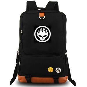 Aplastar mochila mochila bolsa de la escuela al aire libre de la lona The Offspring mochila Fideos banda de rock de música portátil mochila mochila