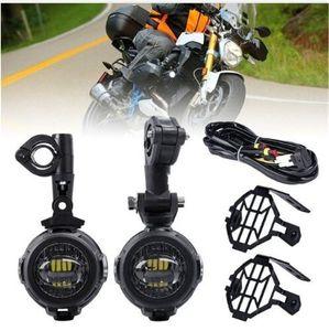 Nebelscheinwerfer der heißen Verkaufs-Motorrad-LED schützen Schutz mit Kabelbaum für BMW R1200 GS / ADV Motorrad führte Lichter weißes 6000k